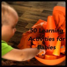 How Wee Learn: 50 Learning Activities for Babies - simple, everyday activities that will give your baby the very best start!