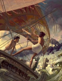 Heroes and Adventures Illustrations by Jon Foster