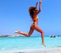 Inspiring picture beach, beautiful, beauty, bikini, blue. Resolution: 1024x805 px. Find the picture to your taste!