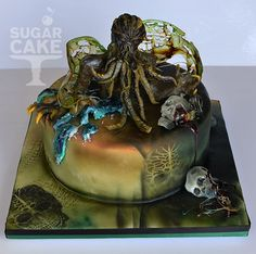 cthulhu cake - Google Search