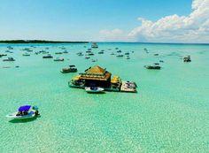 Crab Island Destin Florida #Floridaspringbreak