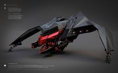 M.A.G.M Spacefighter Lightning II by maurice baltissen   Robotic/Cyborg   3D   CGSociety