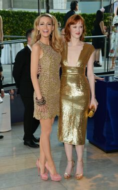 Blake Lively and Karen Elson Tuesday TEN - CFDA Style!  Check out my favs on www.kishaschiclessons.com