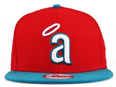 New Era MLB Los Angeles Anaheim Snapback Hats Caps Red 3578! Only $8.90USD
