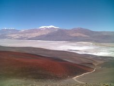 Antofagasta, bien al norte de Catamarca, un desierto muy especial...