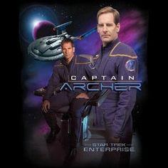 Star Trek Enterprise Captain Archer T Shirt