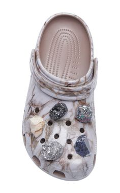 e6226a65171033 These   Christopher Kane   crocs are rendered in rubber and feature a marble