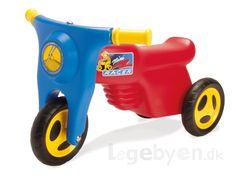 Køb Dantoy Skubbe Scooter med plasthjul - fra 2 år. online - Dantoy
