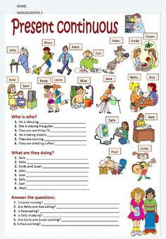 English Grammar For Kids, Teaching English Grammar, English Worksheets For Kids, English Lessons For Kids, Kids English, English Activities, Grammar Lessons, English Language Learning, English Vocabulary