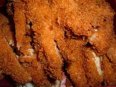 The Chicken Katsu recipe on Recidemia i seen on most Japanese, Korean, and Hawaiian restaurant menus.  Normally, Chicken Katsu is either served on a bed of cabbage slices or placed next to a scoop of rice.