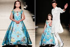 9-Year-Old Modeled In Paris Couture Show, Commenters Freak #refinery29