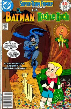 Looks like a fun comic for the kids (and me) to read- remember Richie rich?