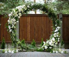 Ceremony Arch, Wedding Ceremony Decorations, Wedding Wreaths, Outdoor Ceremony, Flower Decorations, Metal Wedding Arch, Floral Wedding, Wedding Flowers, Our Wedding