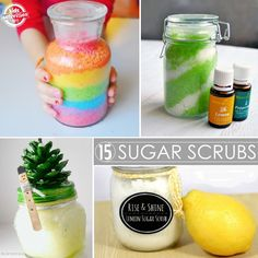 Lots of great smelling sugar scrubs you can make. Love the ones that use essential oils!