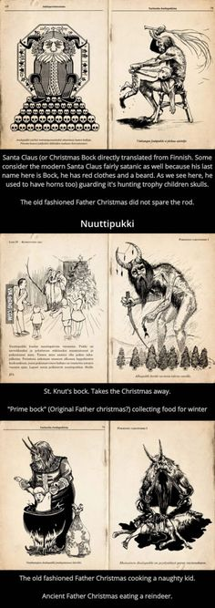 This is the original Santa Claus from Finland.