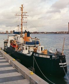 US Coast Guard cutter Bramble in Port Huron, Michigan