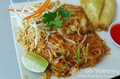 Pad Thai Chicken @ Thai Time III in San Diego, CA