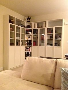 This Is Kind Of What I Have In Mind For My Little Study E Not Sure If Want The Cabinets To Be That Tall But Maybe
