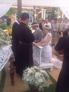 Noivos Luiza e Beto!
