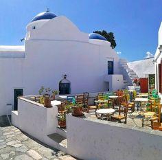 Magnificent village of Artemonas in 📍Sifnos island (Σίφνος)