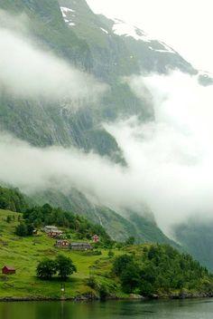 The misty fjords, Nærøyfjord / Norway