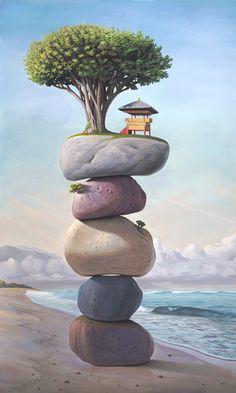 #art #paintings http://imgs.abduzeedo.com/files/articles/paul-bond/TheSoftMorningOfOurRemebrance_Large.jpg