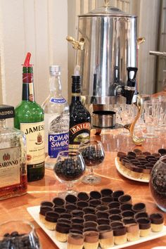 Coffee & Cordials Station www.SterlingBallroomEvents.com