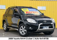 2008 Toyota RAV4 Cruiser L Auto 4x4 MY08  check more used cars at: https://jzmotors.com.au/used-cars-melbourne/