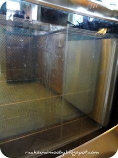 How to clean in between your oven door windows