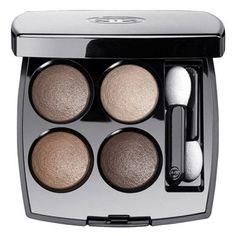Deneuve and Brigitte Bardot are tied for best slept-in eye makeup. Chanel Multi-Effect Quadra Eyeshadow in Tissé Rivoli, $61, chanel.com.
