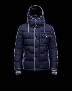 New Style Moncler BRESLE Euramerican Mens Jackets Blue [2781622] - £236.79 :