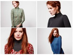 Picked up one of these Orla Kiely x Uniqlo Heattech turtlenecks this past weekend. I'm not a big turtleneck person, but the print is adorbs (I have the blue) and it's supposed to be this heat generating base layer type thing. I also got a scoopneck in plain grayish brown and have been wearing that under everything.