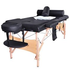 Massage Table Portable Facial SPA Bed W/Sheet+Cradle Bolster+Hanger Massage Table Heigh Adjustable 3 Fold W/Face Cradle Portable Aluminium Bed. Blue Portable Massage Table w/Free Carry Case Chair Bed Spa Facial. Massage Bed, Massage Table, Good Massage, Spas, Table Portable, Massage Therapy Rooms, Chair Pictures, Chair Bed, Table Accessories