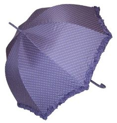 Frilly Polka Dot Umbrella
