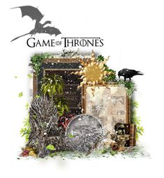 """""""Game of Thrones"""" by girlinthebigbox ❤ liked on Polyvore featuring art"""