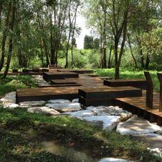 river side park in Casalmoro, italy © Martina Mambrin / Archiplanstudio