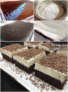 Vanilyalı Kremalı Çikolatalı Tatlı Tarifi