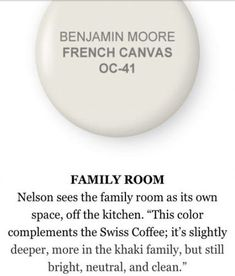 French Canvas by Benjamin Moore-for neutral color! French Canvas by Benjamin Moore-for neutral color! Exterior Paint Colors For House, Bedroom Paint Colors, Bedroom Color Schemes, Interior Paint Colors, Paint Colors For Home, House Colors, Paint Colours, Colour Schemes, Interior Design