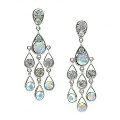 Iridescent Chandelier Earrings The Little White Dress,http://www ...