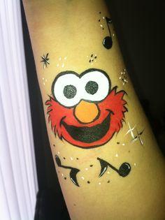 Rocking Elmo face painting