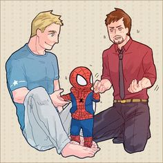 Stony and baby Peter!! ❤❤