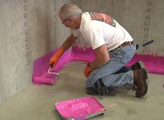 WHY USE SCHLUTER KERDI SYSTEM? The Pros And Cons Of Surface Waterproof  Sheet Membranes For Tile Showers   Shown Here: Schluter Kerdi Fabric Shower  U2026
