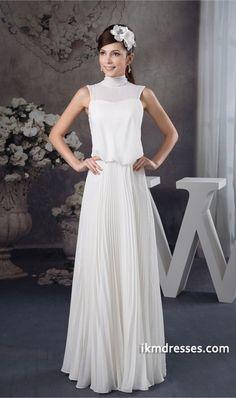 http://www.ikmdresses.com/Elegant-Chiffon-Silk-like-Satin-High-Neck-Pleats-Date-Dresses-p21817