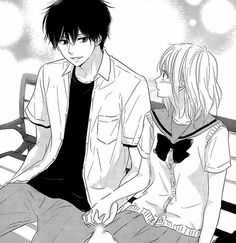 Image about girl in Anime & Manga 🌸💮 by 𝔼𝕞𝕞𝕪 on We Heart It Manga Love, Manga Girl, Anime Love, Manga Anime, Manhwa, Romantic Anime Couples, Manga Story, Cute Anime Coupes, Beautiful Sketches