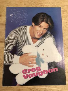1990s Teen Magazine Page Clipping - GREG VAUGHAN / JAMES MARSDEN Greg Vaughan, James Marsden, Soaps, 1990s, Christmas Sweaters, Magazine, Store, Beauty, Hand Soaps