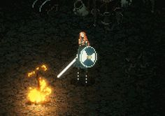 eitrthegame:  The Bonfire in Eitr serves as both a place to recuperate and as a checkpoint. However, it will not always be lit - players will have to search for materials to rekindle it's flame.