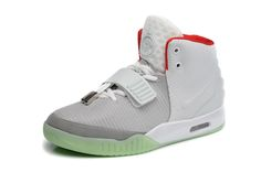 Buy Nike Air Yeezy 2 Wolf Grey Pure Platnium Factory Outlet
