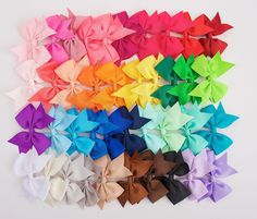FULL SET- 3.5 Inch Bow Clips