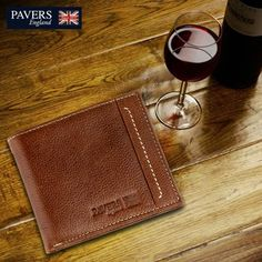 There's little a man can carry that's more #elegant than a swell #wallet. This hand crafted soft leather wallet fits neatly into a pocket & makes a great #gift for someone special. Not to forget, the #leather just gets better with age.