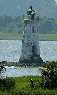 Cockspur Lighthouse Fort Pulaski, Cockspur Island, Ga - National Park Service | Flickr - Photo Sharing!